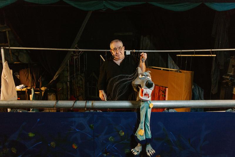 Paul Ionescu. Marionetist